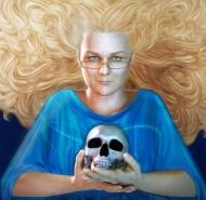 Rayne Hall portrait by Fawnheart
