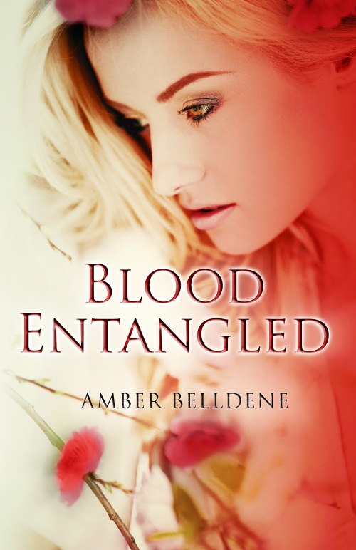 image, Blood Entangled Book cover, Amber Belldene