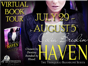 Haven Bewitching book tour July 29 to August 5