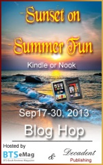 BTSemag, Decadent Pub Sunset on Summer Fun Blog Hop image
