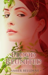 image, Blood Reunited Book cover, Amber Belldene