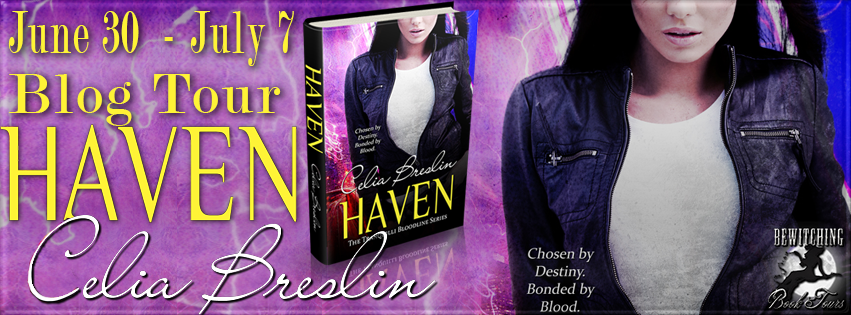 Haven Bewitching book tour, June 30 to July 7, 2014