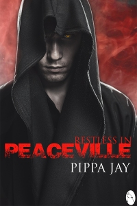 Restless in Peaceville by Pippa Jay book cover