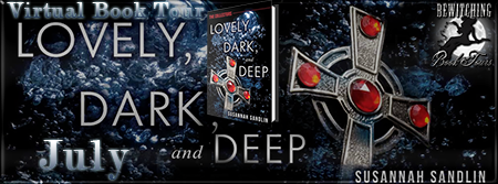 Bewitching Book Tour, July 2014, Lovely, Dark and Deep book cover