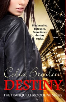 DESTINY by Celia Breslin, Book cover
