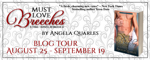 Angela Quarles, Must Love Breeches Book Tour