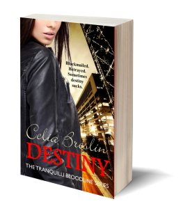Destiny by Celia Breslin book cover