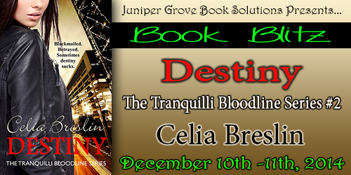 Juniper Grove Book Solutions Live Blitz for Destiny, December 10 and 11, 2014
