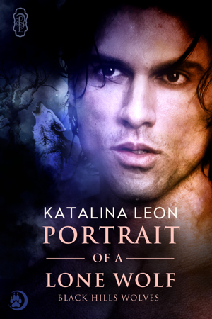 Portrait of a Lone Wolf by Katalina Leon