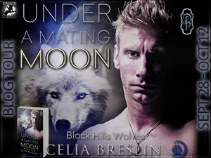 Under A Mating Moon by Celia Breslin book tour