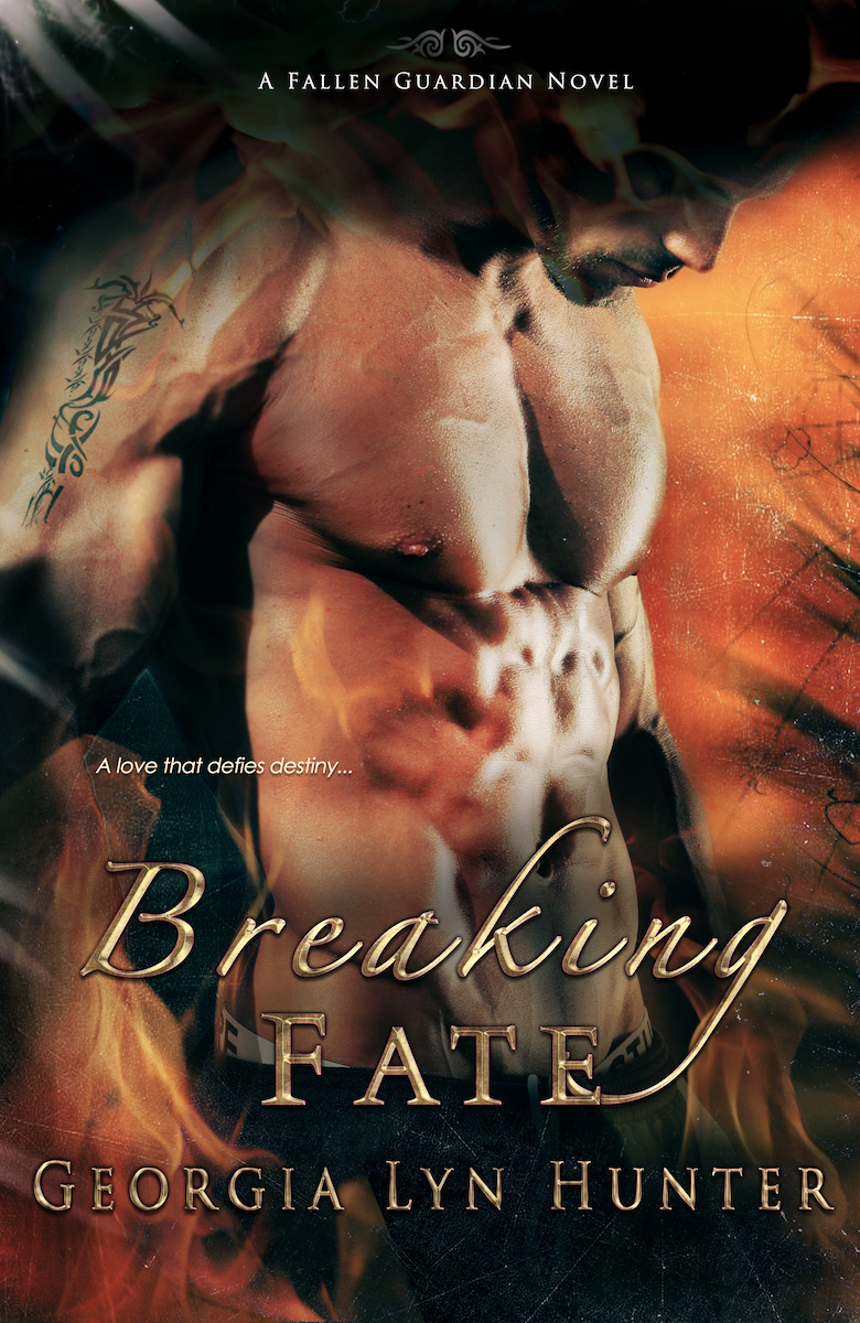 Breaking Fate book cover, by Georgia Lyn Hunter