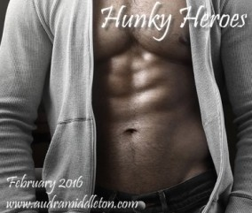 Hunky Heroes, meet and vote for my Jake on Feb. 27