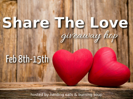 Share the Love Giveaway Hop, Feb. 8 - 15, 2016