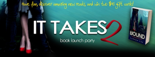 It Takes Two Facebook Party, Author Interviews starting at noon Pacific on May 7