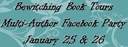 BEWITCHING BOOK TOURS FACEBOOK AUTHOR PARTY JAN 25 TO JAN 26