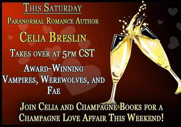 Champagne Books Facebook Party, Feb 25, 2017