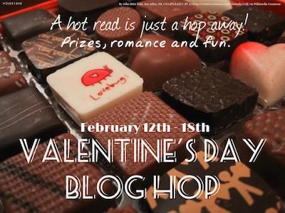 Valentine's Day blog hop graphic, Feb 12 to Feb 18, 2017