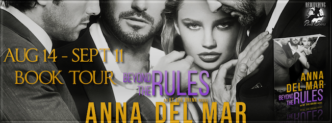 Bewitching Book Tour, Beyond The Rules by Anna Del Mar book cover