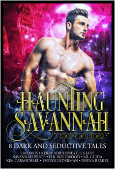 Haunting Savannah by multiple authors cover