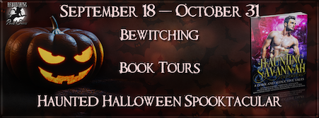 Bewitching Book Tours Halloween Event graphic