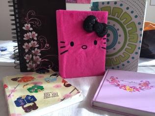 photo of my journals