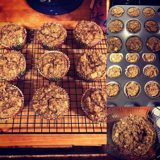 picture of celia's batch of muffins