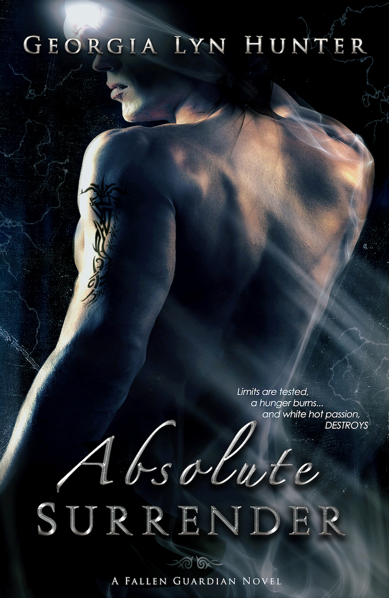 Absolute Surrender book cover, by Georgia Lyn Hunter