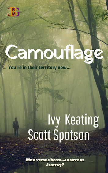 Camouflage by Ivy Keating and Scott Spotson book cover image