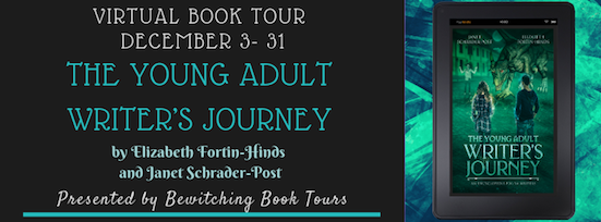 The Young Adult Writer's Journey Bewitching Book Tour Dec. 3 to Dec. 31