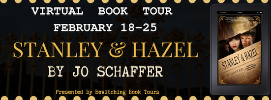 Bewitching Book Tour of Stanley and Hazel by Jo Schaffer, Feb 18 to Feb 25