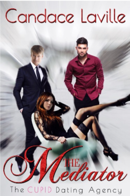 The Mediator book cover, by Candace Laville, The CUPID Dating Agency series