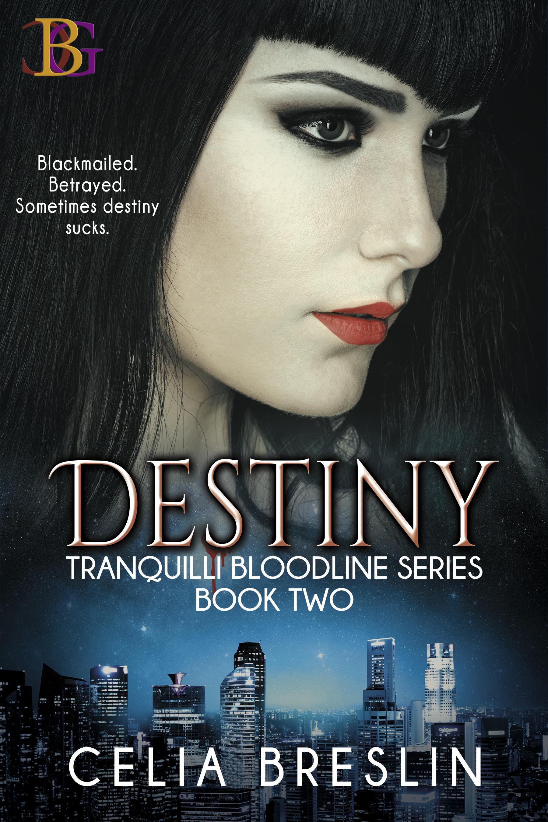 Destiny by Celia Breslin new book cover