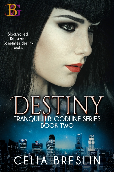 Destiny by Celia Breslin new book cover