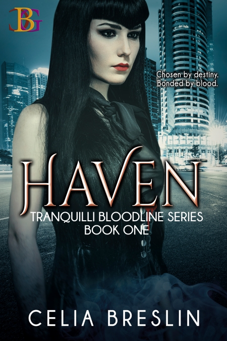 Haven by Celia Breslin new book cover