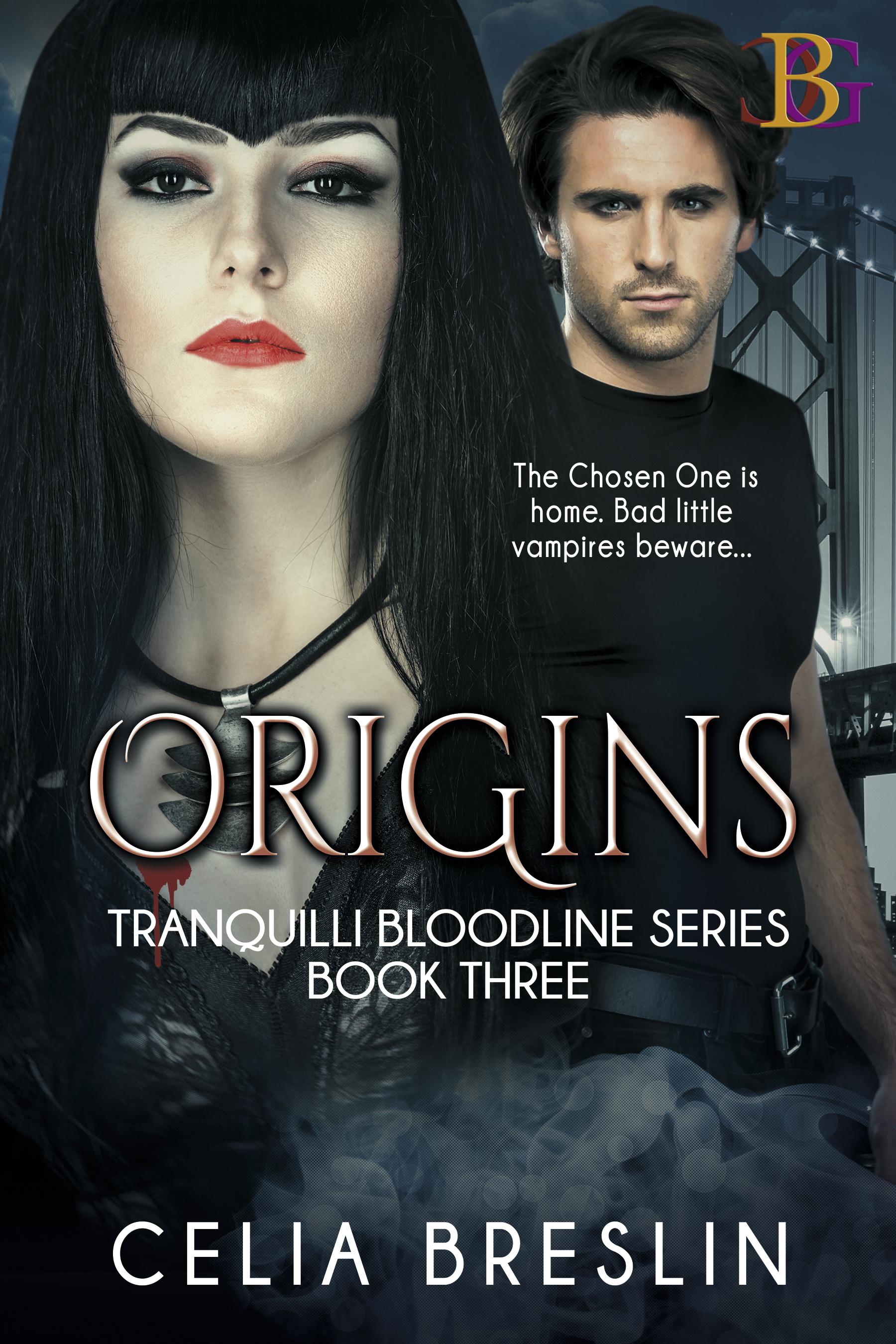 Origins by Celia Breslin new book cover