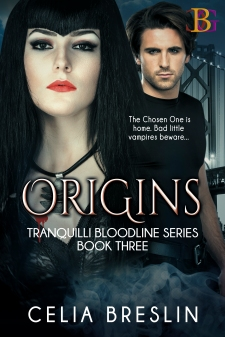 Origins book cover by Celia Breslin