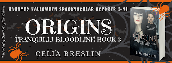 Origins  by Celia Breslin October 2019 tour banner