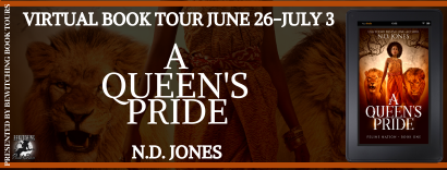 A Queen's Pride Book Tour, June 26 through July, 2020