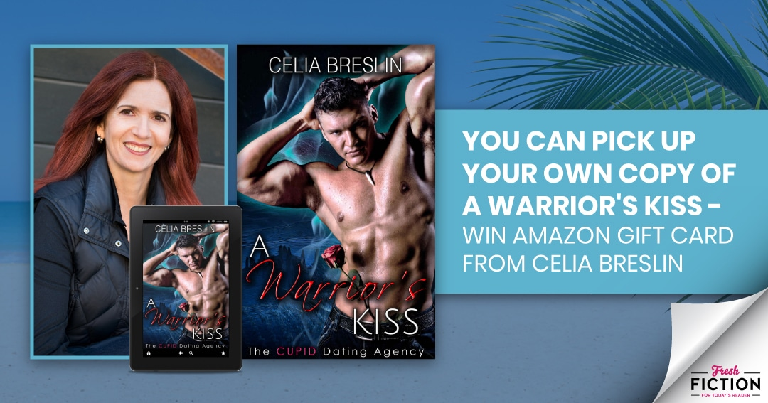 Enter A Warrior's Kiss Release Month Celebration Giveaway at Fresh Fiction