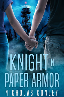 Knight in Paper Armor by Nicholas Conley cover
