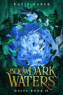 Below Dark Waters by Katie Zaber book cover