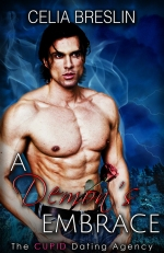 A Demon's Embrace by Celia Breslin book cover