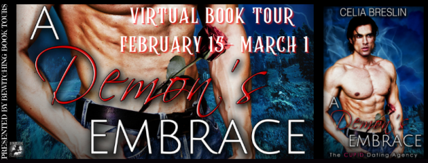 A DEMON'S EMBRACE BOOK Tour February 15 through March 1, 2021