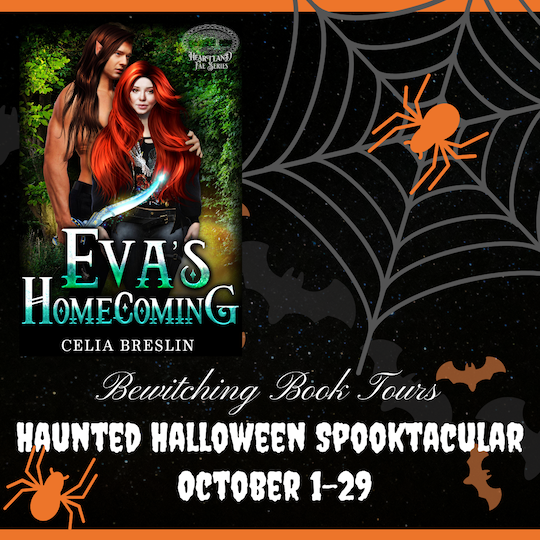 List of prizes in the Eva's Homecoming Bewitching Book Tours Halloween Spooktacular 2021