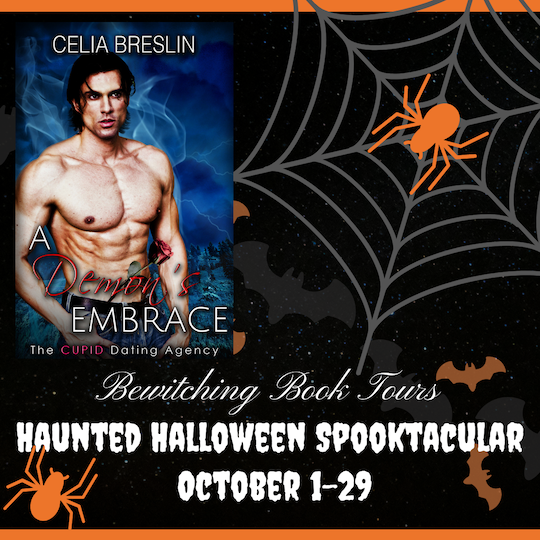 List of prizes in the A Demon's Embrace Bewitching Book Tours Halloween Spooktacular 2021